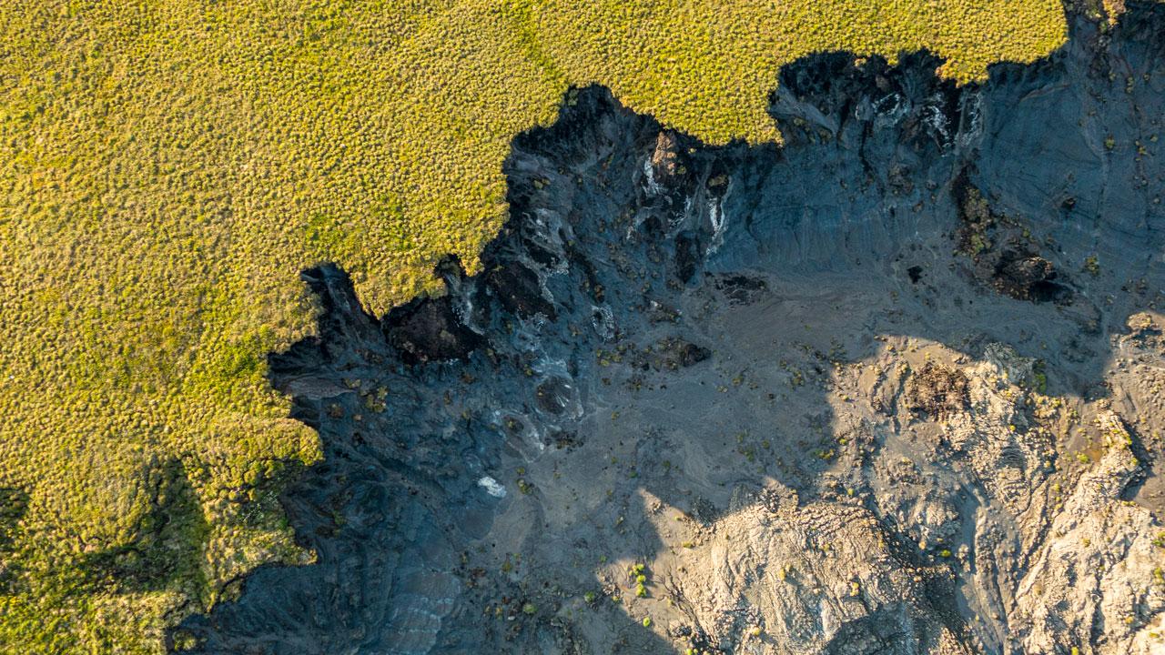 Retrogressive permafrost